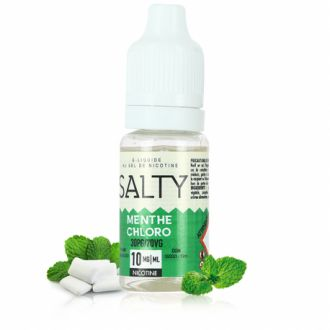 Menthe chlorophylle Salty 10ml
