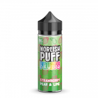 Strawberry Pear & Lime Moreish Puff 100ml